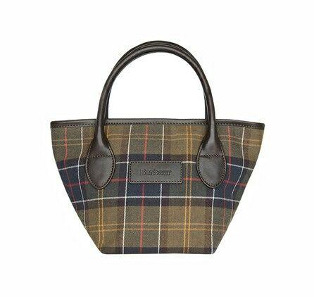 Barbour tartan handbag
