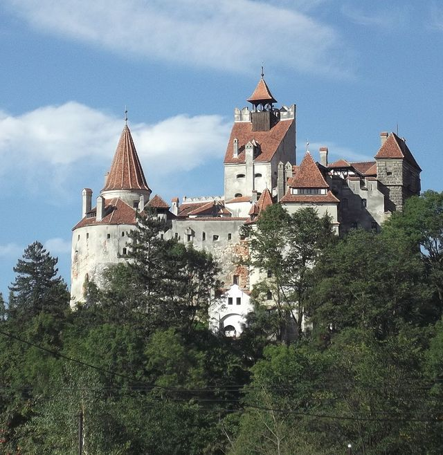 Castelul Bran - 2012 - Rumunsko – Wikipedie