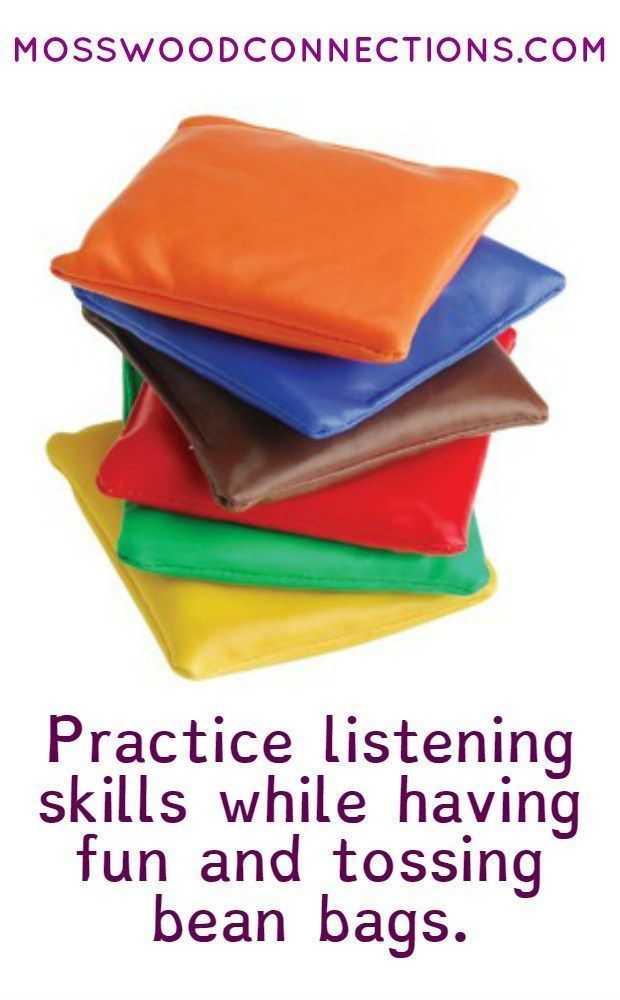 Be All Ears Bean Bag Toss Auditory Processing Activity & Listening to Directions Activity
