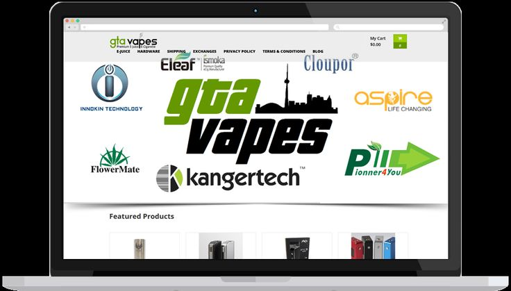 GTA Vapes is a leading provider of e-cigarettes and vaporizers in Toronto. Our E-commerce website designers added numerous features to the website so that users can easily navigate it and buy their preferred e-cigs without any hassles.