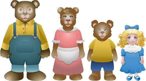 goldilocks and the three bears - Google Search