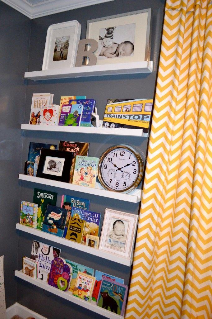 Bennetts Room Nursery Book ShelvesIkea