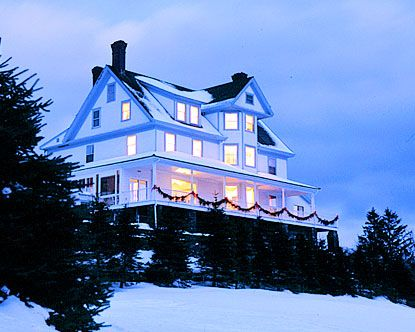 Maine bed and breakfasts inns are usually operated out of a large single family home.