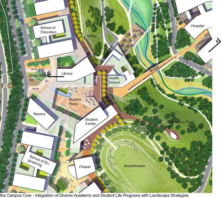 Universidad del Istmo Master Plan and Implementation / Sasaki Associates,plan 02