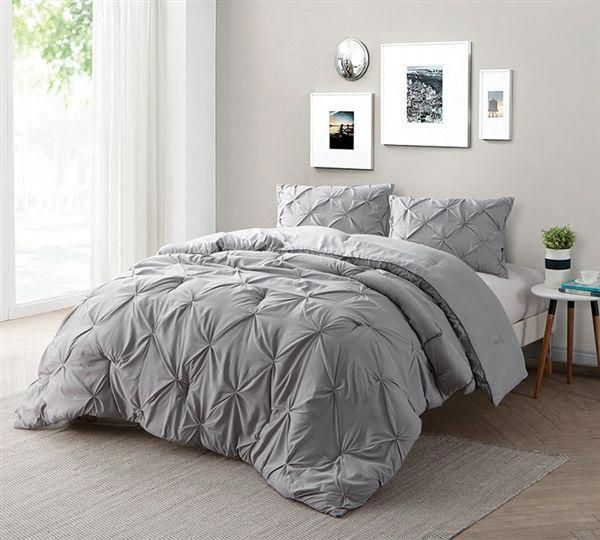 Find Xl King Size Bed Comforters Alloy Gray Bedding In King Xl Grey Bedroom With Pop Of Color Comforter Sets Grey Comforter