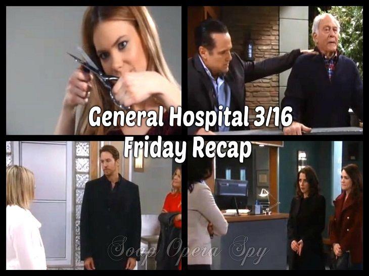 General Hospital Recap 3 16 1018 Griffin Id S Henrik Ava Warns Crazy Nelle General Hospital Hospital Recap