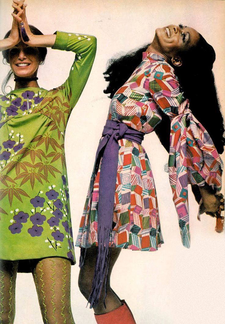 Photo by Bert Stern, 1970.LOOOOVE these dresses.