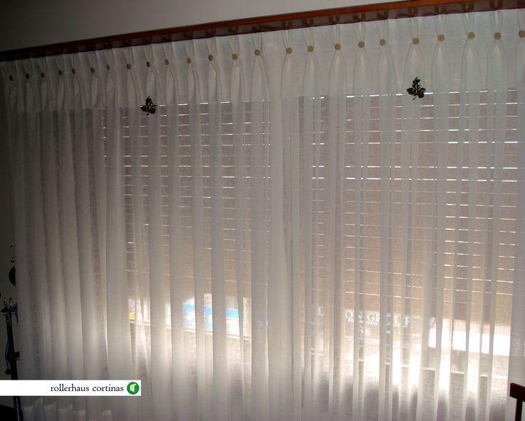 Cortinas Plisadas de Tela. Clásicas y delicadas cortinas para tu hogar. https://www.facebook.com/rollerhauscortinas Asesoramiento y presupuestos sin cargo en rollerhauscortinas@outlook.com