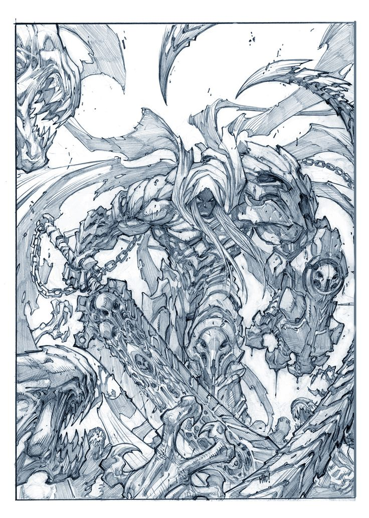Character designers: Joe Madureira - Darksiders