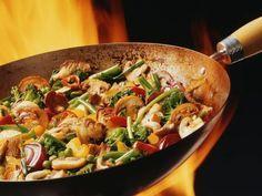 Receta Verduras al Wok, nuestra receta Verduras al Wok - Recetas enfemenino