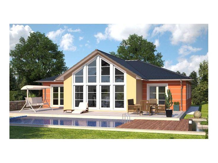 Hausbau modern walmdach  Innovation R - Haus R140_1_V35 - #Einfamilienhaus von RENSCH-HAUS ...