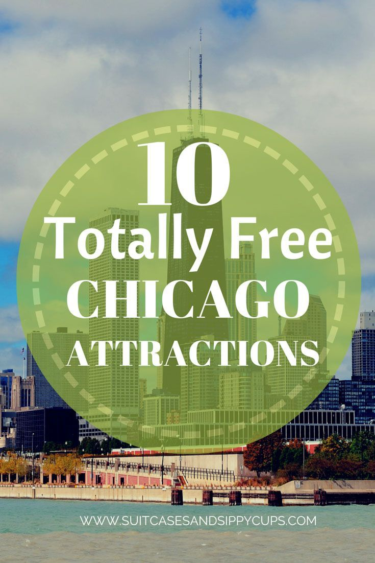 Free things to do in Chicago while travelling this summer - for tourists or locals alike! Fun ideas for the kids too.