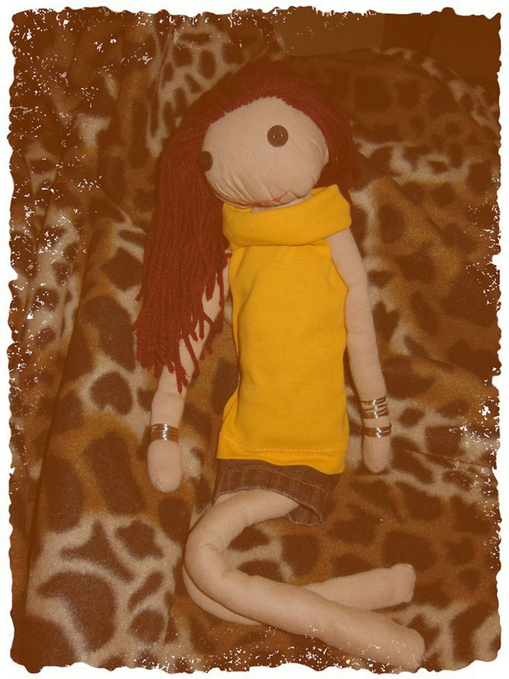 A doll for my daughter! In yellow!