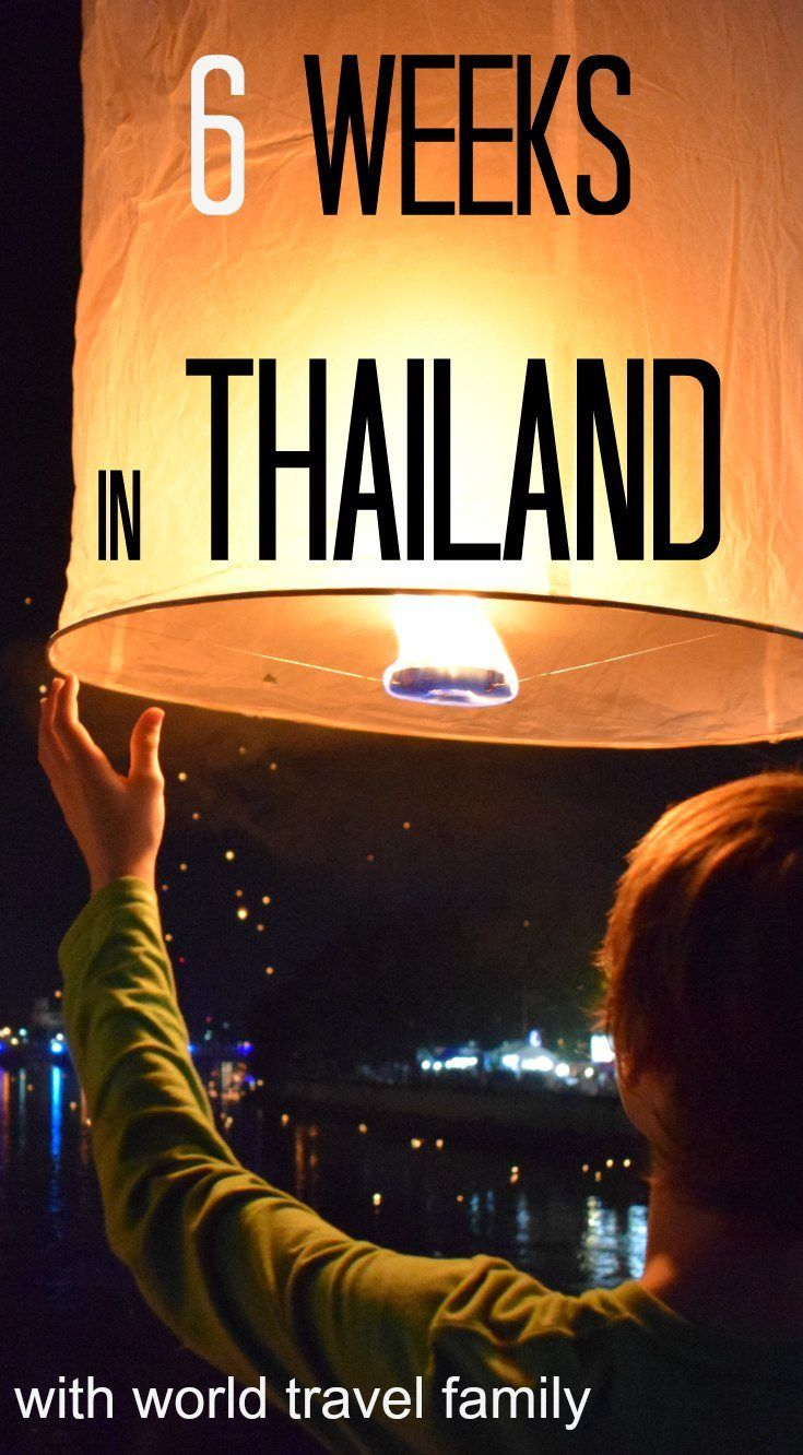 6 weeks, 2 kids in Thailand. Where to go, how to do it, where to stay, what to pay, what is there to learn? Family travel in Thailand. via @worldtravelfam/
