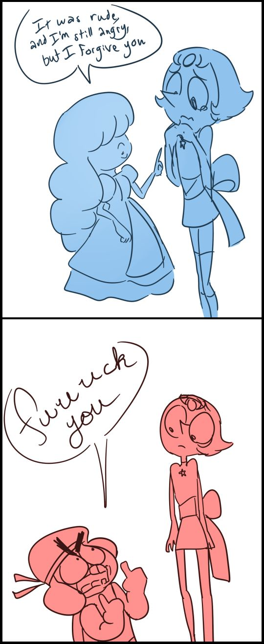 Sapphire, Ruby, and Pearl