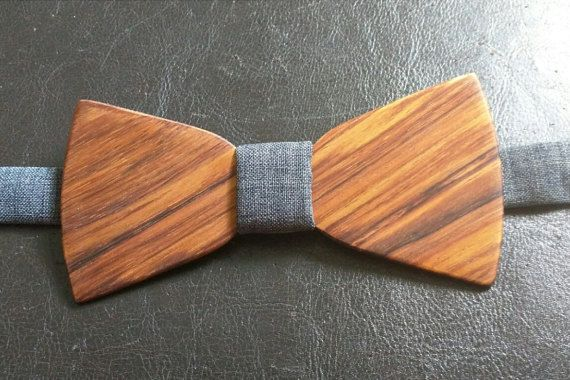 ONLY 7 LEFT IN THIS WOOD GRAIN, GET IT TODAY!!!   Wood Bow Tie  KOA Wood  Suit up  Trending 2015  by VenutoWoodWork