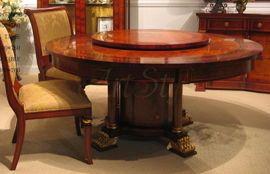 Stylowy Stół z krzesłami  ORPHEUS 160