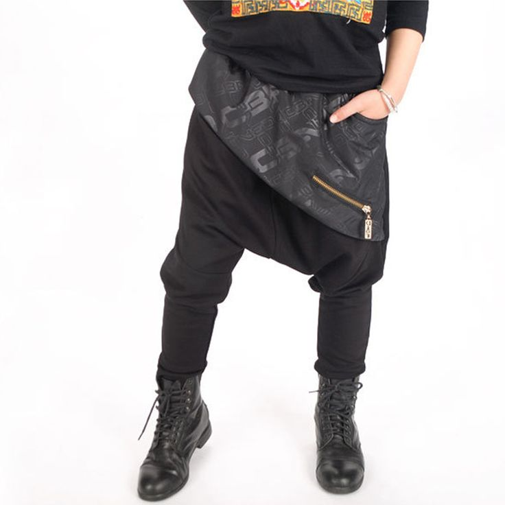Fashion Kids Boy Harem Pants Hip-hop Dance Harem Sweatpants Cotton Children Boy Leisure Trousers Slacks Infant Toddler 2-13Y #Affiliate