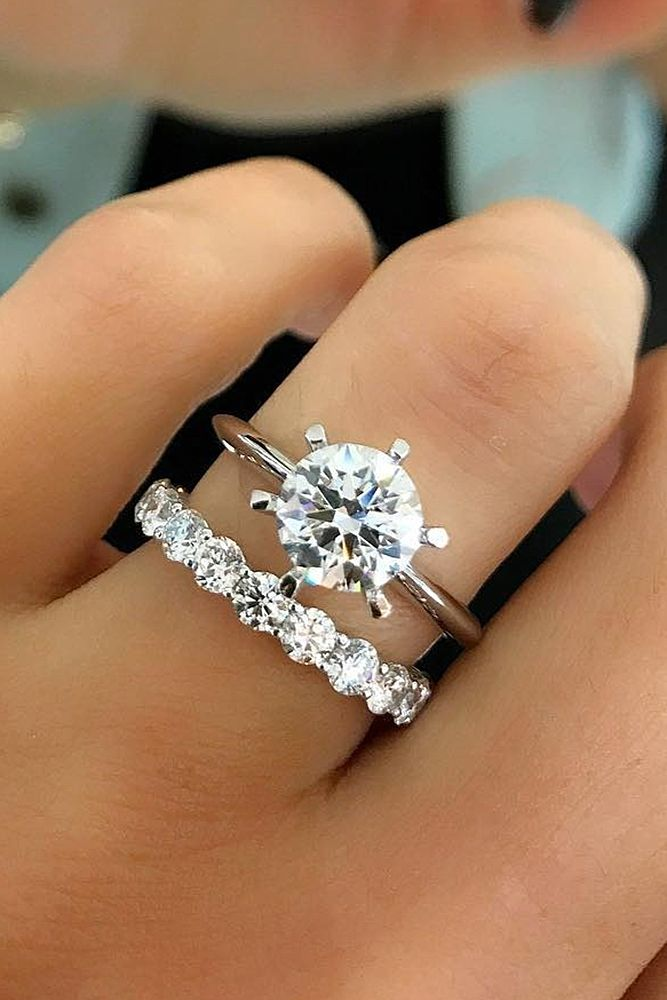 30 Beautiful Wedding Ring Sets For Your Jewelry Pinterest Rings And
