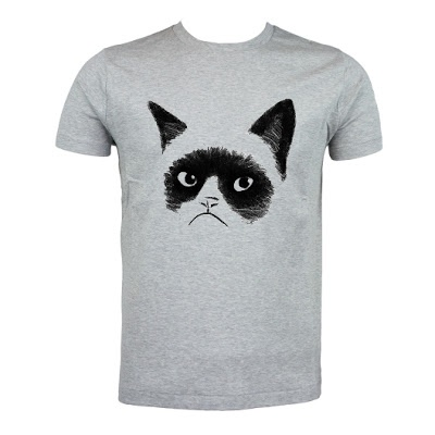 Grumpy Cat T-Shirt by @Excellent Fancy  http://www.excelcy.com/2013/03/grumpy-cat-grey.html
