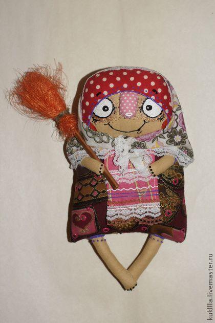 Любовь Лаврентьева. Баба-Ежка - авторская кукла,кукла ручной работы,кукла,сказка,сказочный персонаж