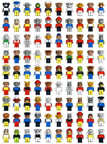 LEGO Fabuland Figures - I loved those!