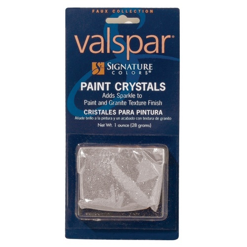 paint crystals to add shimmer sparkle to any wall paint from valspar. Black Bedroom Furniture Sets. Home Design Ideas