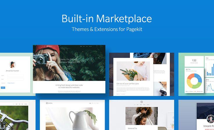 Pagekit 1.0 – A Material Design, Modern & Lightweight CMS