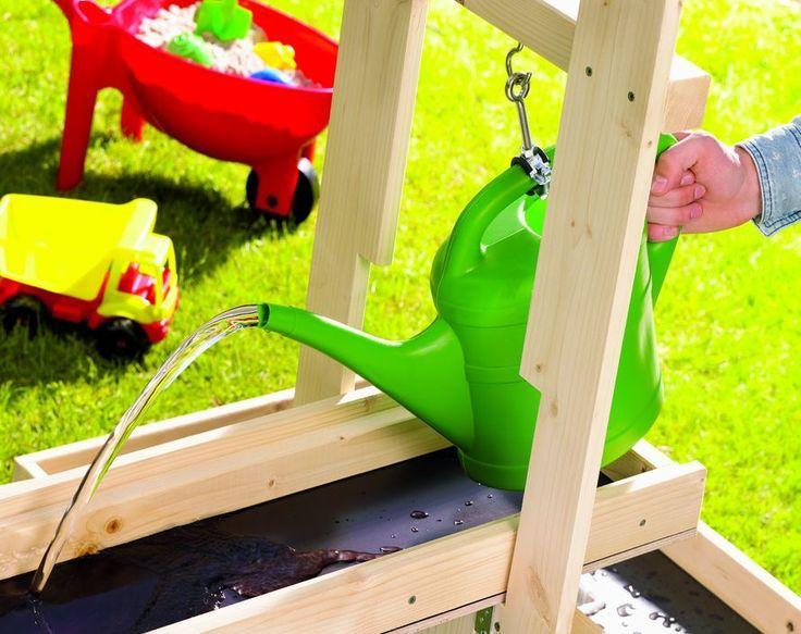 Toom Kreativwerkstatt Wasserspielplatz Pitsch Patsch Kinderspielplatz Garten Garten Spielplatz Wasserspielplatz