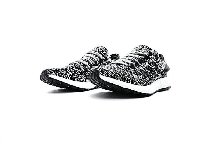 Chaussures De Course 2017 Gentleman adidas Pure Boost 2017 UK Grey noir/Black