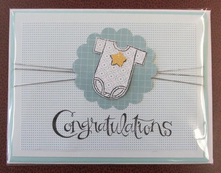 157 Best Images About Stampin Up Baby Cards On Pinterest