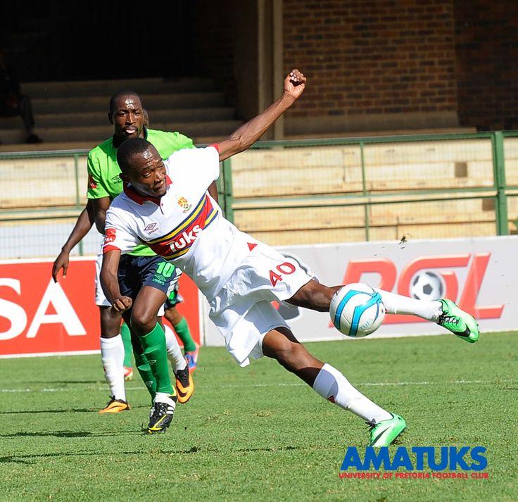 Thabo Mnyamane with the game winner against Platinum Stars 16 February 2014