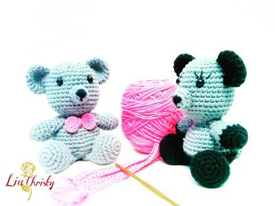LiaChristyBlog.blogspot.com: Amigurumi Teddy Bear