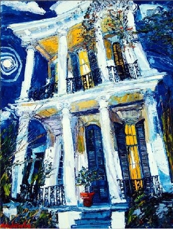 james michalopoulos - My favorite New Orleans artist...I love his colors!