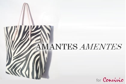 Italian handmade bag 'Manhattan Medium Pelo Zebra' by Amantes Amentes (350$) | Click on the product image, reduce the price, buy. | The price? You choose! | partnership with Convivio Milano 2012: all proceeds go to ANLAIDS
