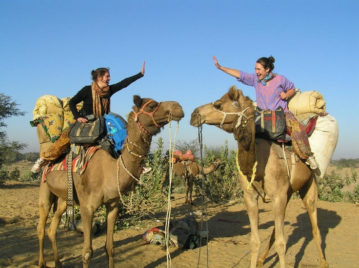 Reason #84: Ride a camel #AIESEC