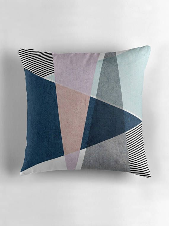 Nordic Style Decor - Scandinavian Style - Home Decor - Scandinavian Cushion - Scandi Cushions - Nordic Decor - Scandinavian Decor - Scandi Modern - Scandinavian Modern - Nordic Pillow - Nordic Cushion - Nordic Style - Minimalist Cushion  -----Triangle Harmony Cushion Cover-----  !!!ONLY