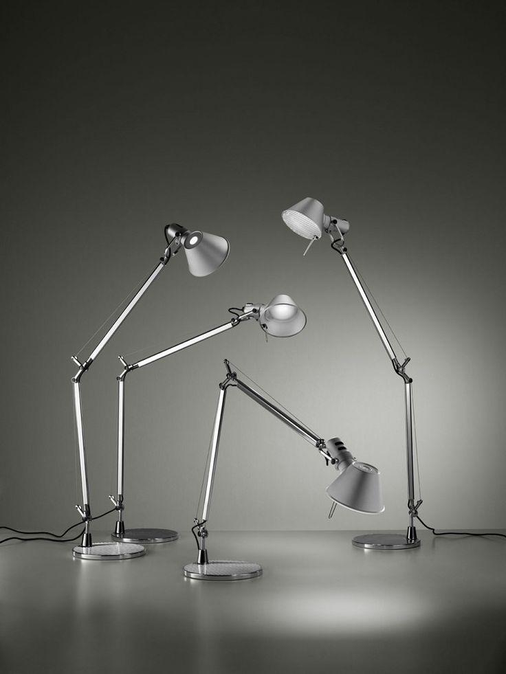 Tolomeo Lamp - Michele De Lucchi & Giancarlo Fassina // ...y el las quiere todas...