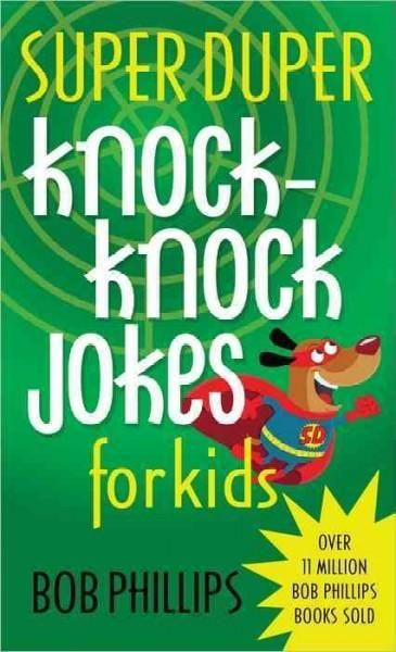 Is there anything better than a knock-knock joke? How about hundreds of them? You are going to love this collection of laugh lines stupendous enough for a super duper joker. With so many, you have ple