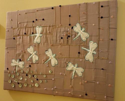 Diy Home Decor Wall Art How To Create Patchwork Wall Art Diy Decorating Tutorial