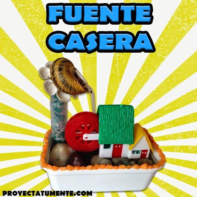 60 best images about proyectos caseros on pinterest - Motor de fuente de agua ...