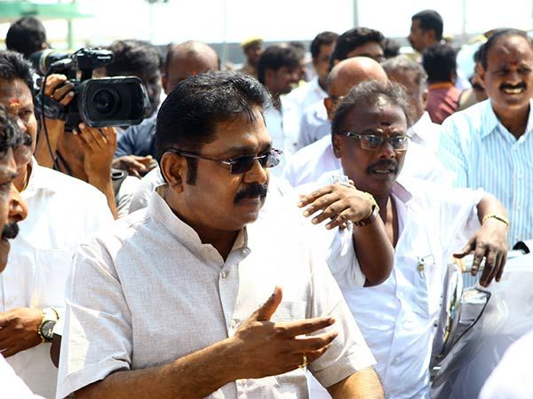 Election candidates of R.K Nagar bypolls elections are T. T. V. Dhinakaran of AIADMK & Marudha Ganesh of DMK. #PoliticalUpdates #ChennaiUngalKaiyil.