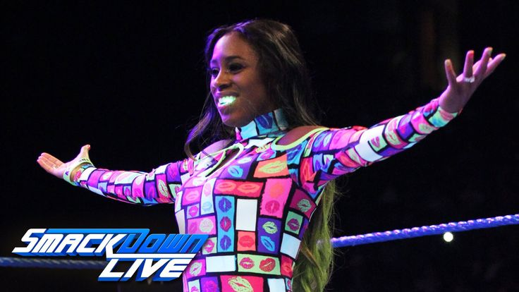 Naomi vs. Eva Marie: SmackDown Live, Aug. 16, 2016. https://www.youtube.com/watch?v=E-wzYIsCICI