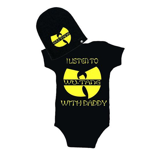 Baby Toddler Wu Tang Cotton One Pieces Jumpsuit