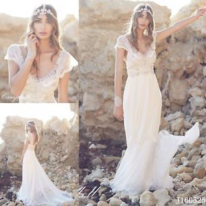 The 25 best Bohemian beach wedding dress ideas on Pinterest