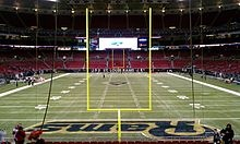 Edward Jones Dome (St. Louis) - why yes I've walked on that field and felt the astroturf between my toes.