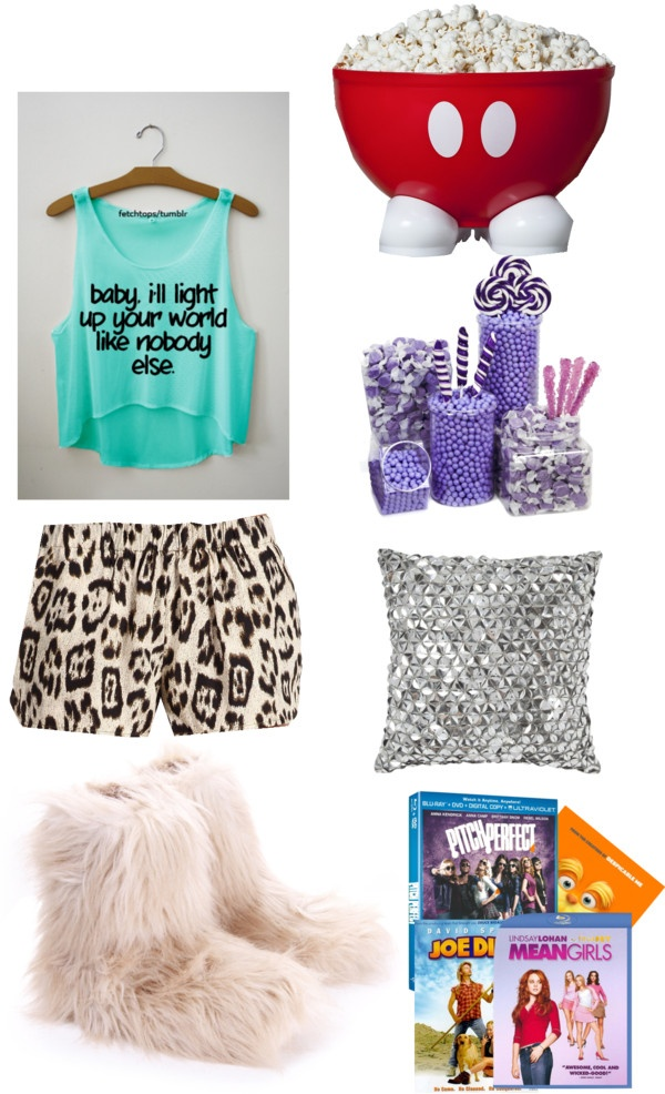 Quot Sleepover With My Girls Quot By Ccdreamer Liked On Polyvore
