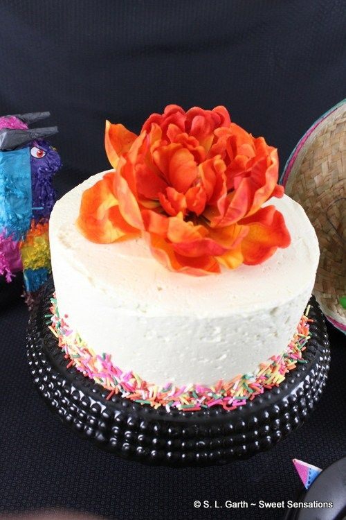 Confetti Cake for Cinco de Mayo ~ #CakeSliceBakers