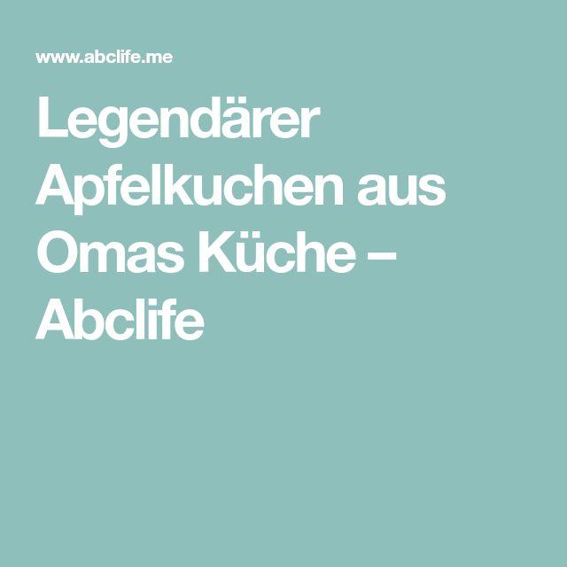 Legendärer Apfelkuchen aus Omas Küche – Abclife