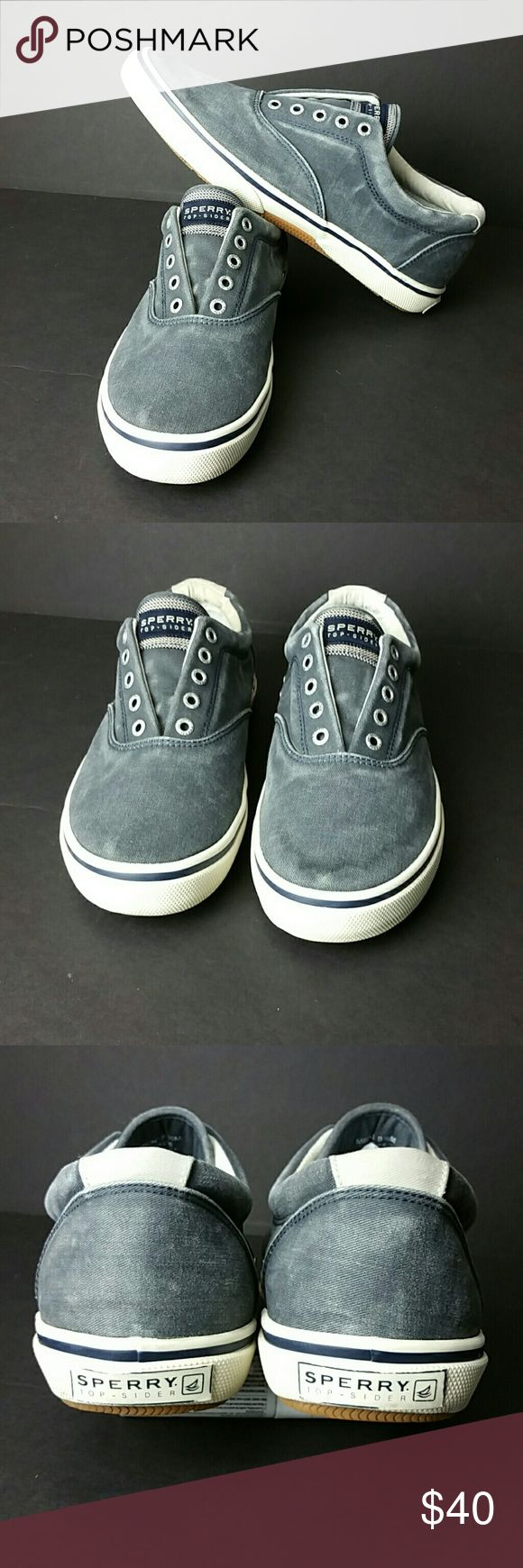 SPERRY TOP-SIDER MEN'S SHOES IN GOOD CONDITION   SKE # PA Sperry Top-Sider Shoes Sneakers